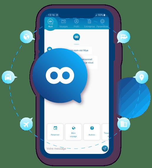 Businesstrip Artificial Intelligence mobile app