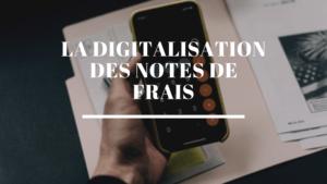 la digitalisation des notes de frais sur une application politique de voyage d'affaires
