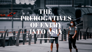 The prerogatives of entry into Asia Ayruu Infographics