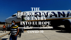 The prerogatives of entry into Europe Ayruu Infographics United Kingdom Germany Belgium France