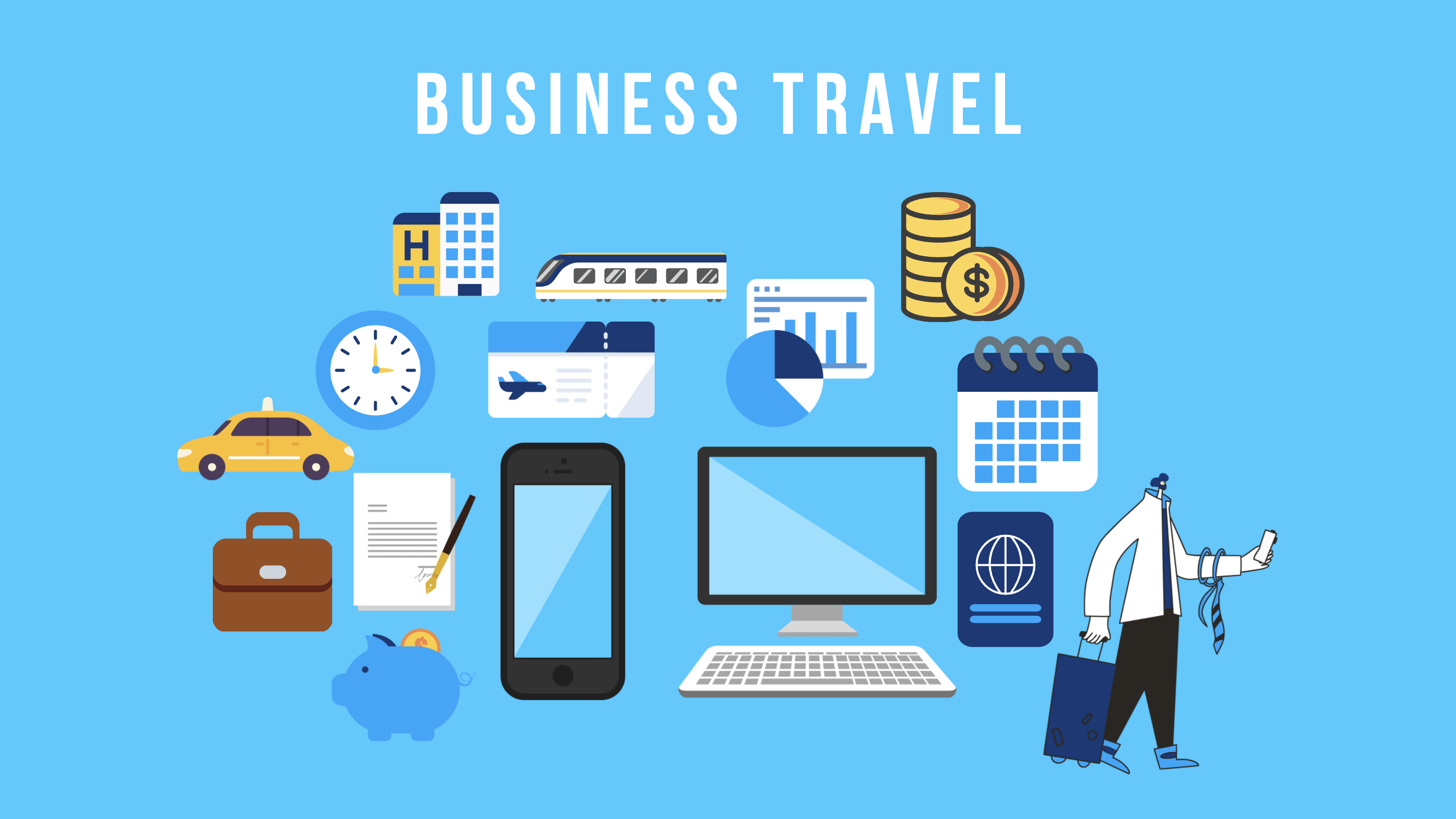 Organizing business travel the alternatives