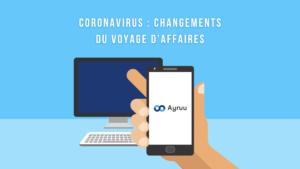 Coronavirus changements du voyage d'affaires
