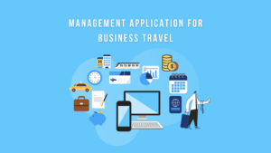 Management application for business travel
