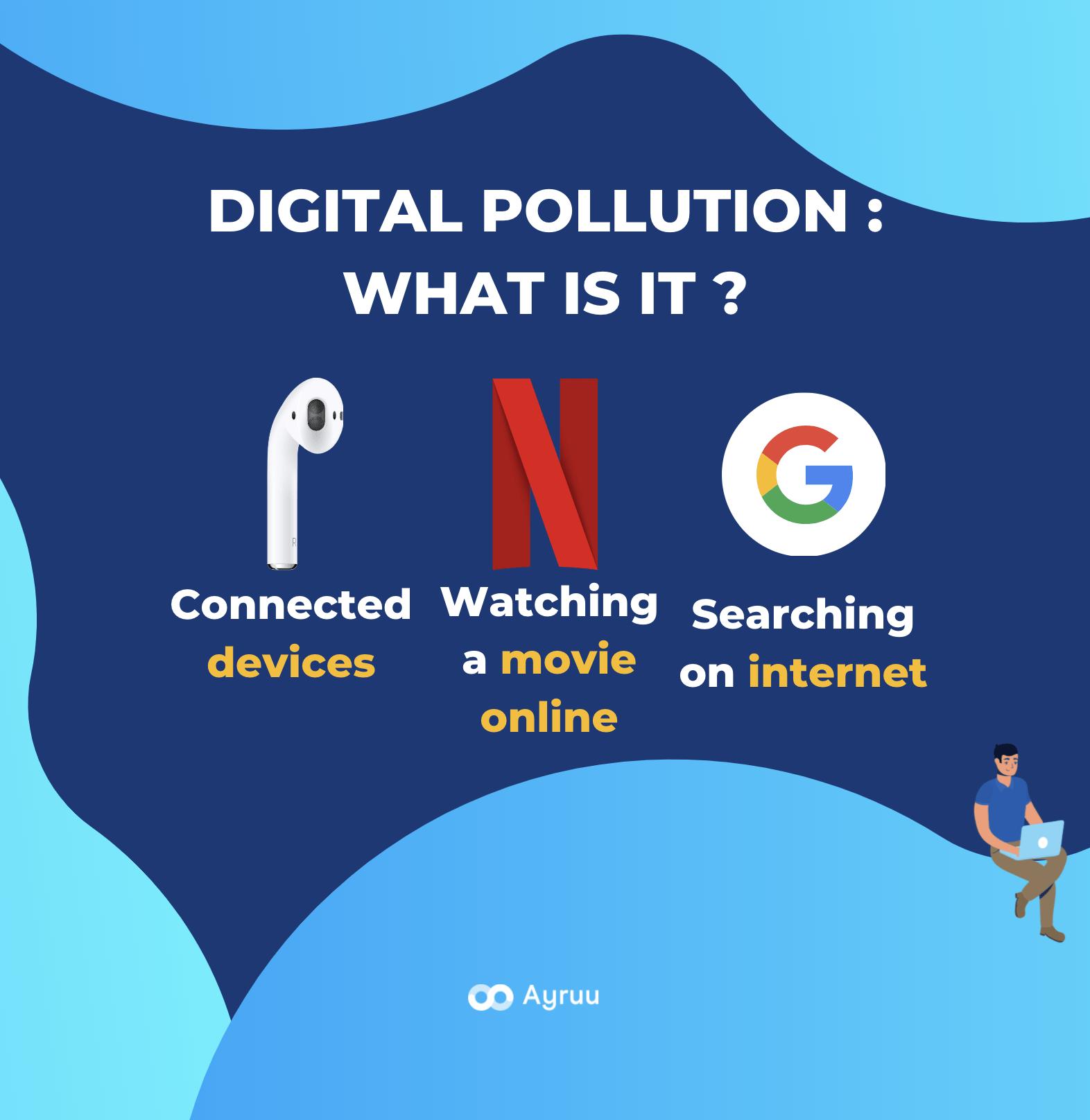 Digital pollution definition