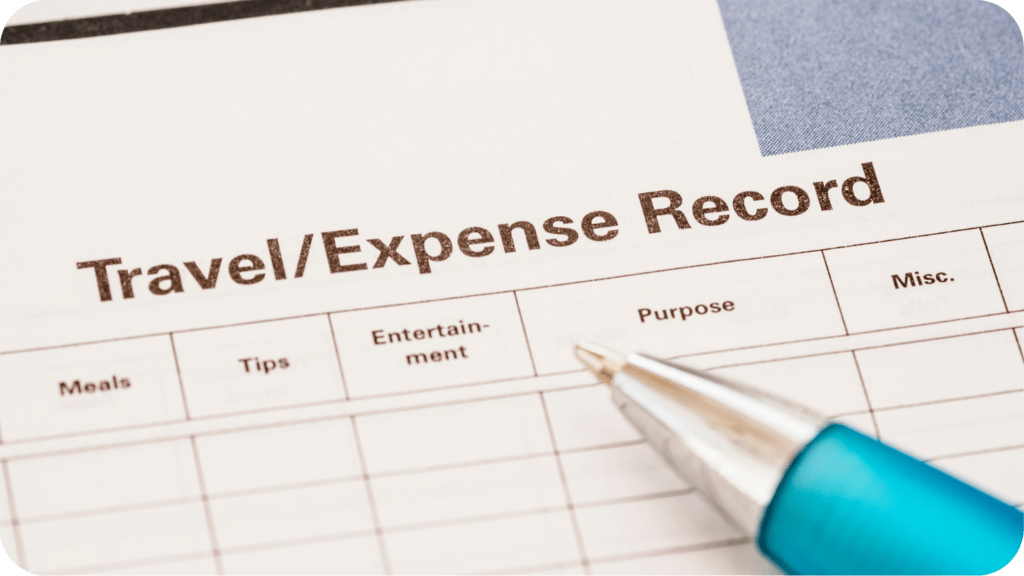 Travel Expense Record Ayruu