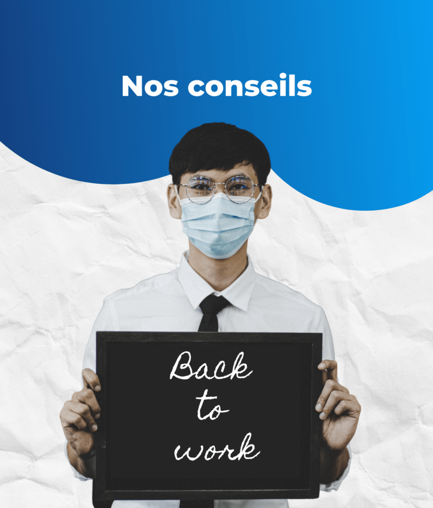 back to work covid masque rentrée